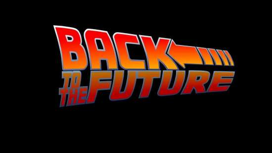 back to the future - logo