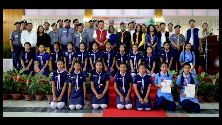 Arunachal Scouts & Guides awardees