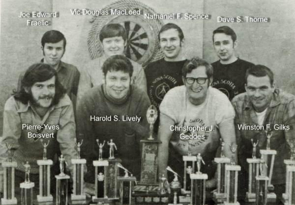 1972 NSLSI Dart Team