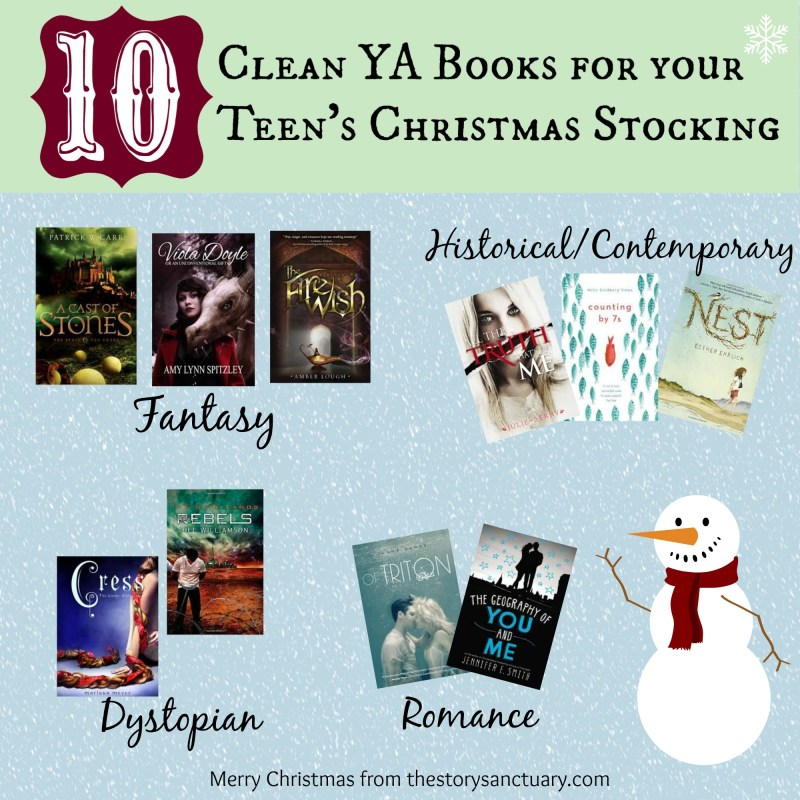10 Clean YA Books