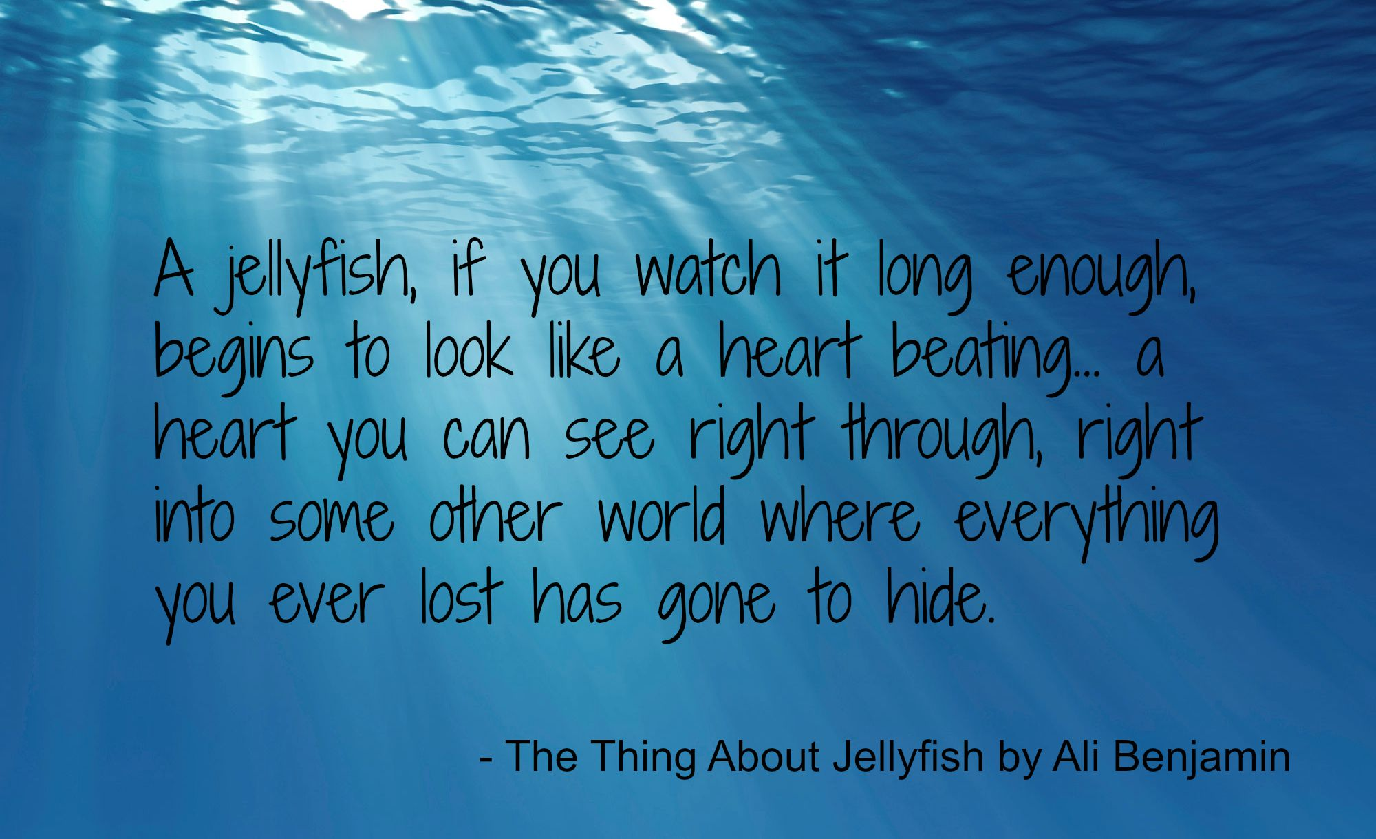 The Thing About Jellyfish Archives The Story Sanctuary
