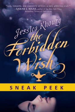 The Forbidden Wish by Jessica Khoury Sneak Peek