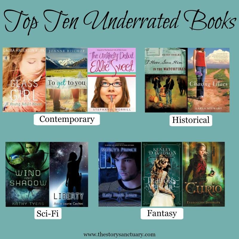 Top Ten Underrated Books