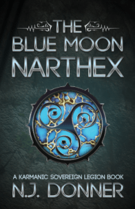 The Blue Moon Narthex by NJ Donner