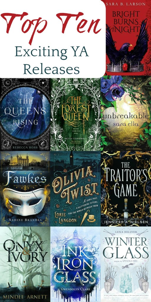 Exciting 2018 YA Releases