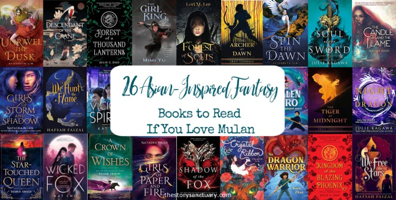 26 Asian-Inspired Fantasy Books to Read if You Love Mulan