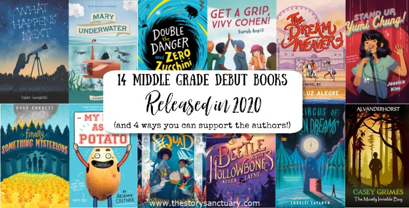 14 Middle Grade Debut Books