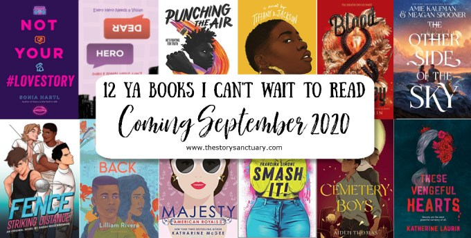 12 YA Books I Can't Wait to Read Coming September 2020