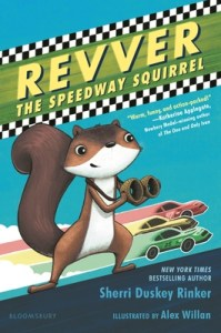 Revver the Speedway Squirrel by Sherry Duskey Rinker