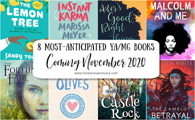 8 Most-Anticipated YA Books Coming November 2020