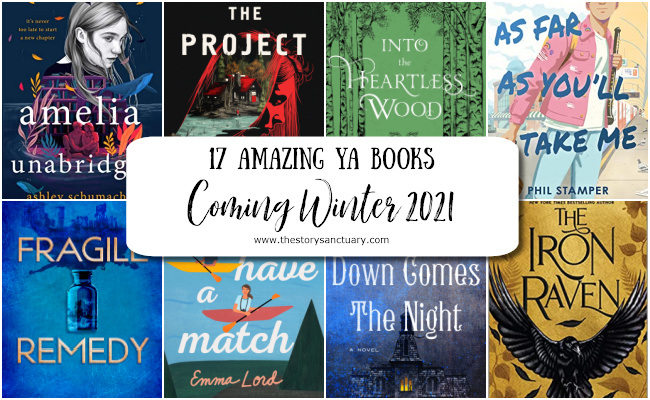 17 Amazing YA Books Coming Out Winter 2021