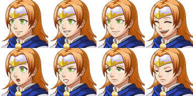 Faceset matching stock sprite Actor1_2 from RPG Maker MV (includes version for XP/VX) (2/2)
