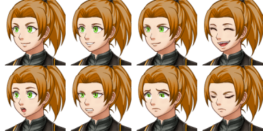 Faceset matching stock sprite SF_Actor2_2 from RPG Maker MV (includes version for XP/VX) (2/2)