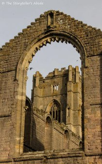 tower through window