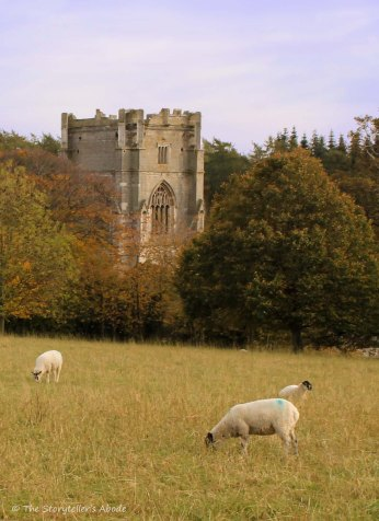 tower with sheep 2