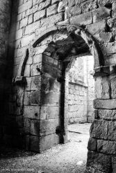 fountains abbey doorway 2