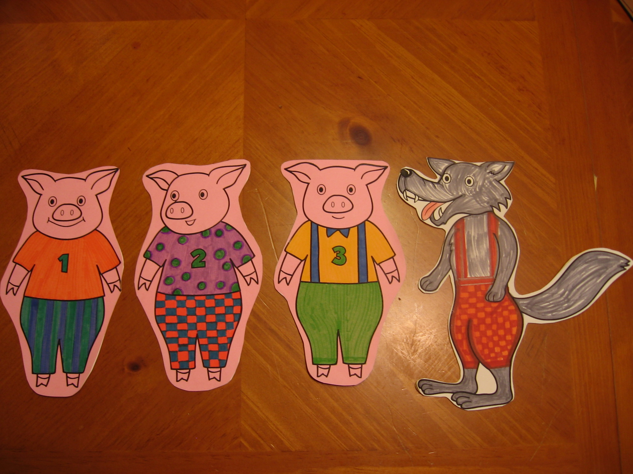 Three Little Pigs Flannel Board