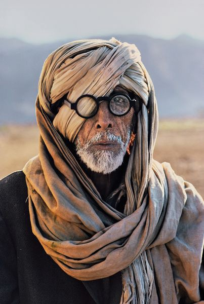 A nomadic man in Afghanistan, photographed by Steve McCurry