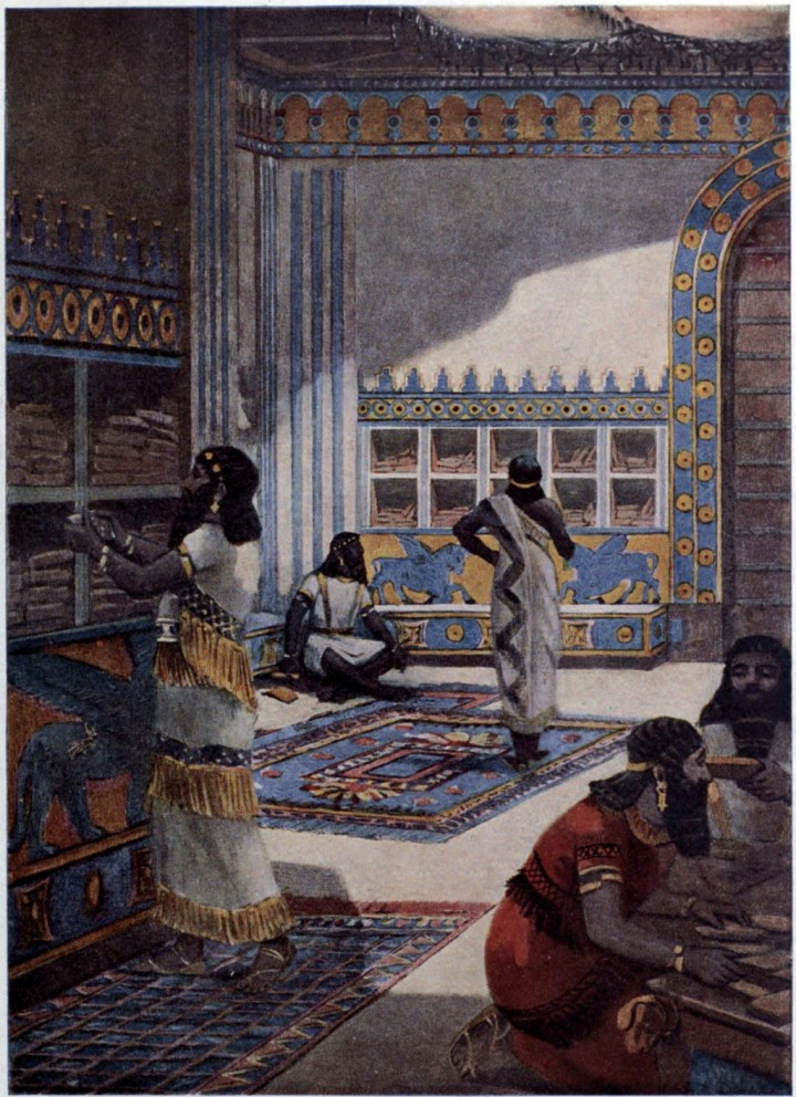 The Great Library of Nineveh, circa 800 BCE
