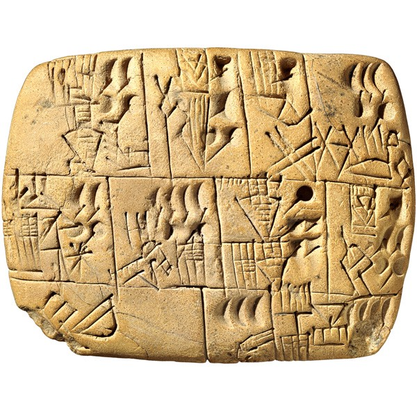 Sumerian proto-writing from Uruk