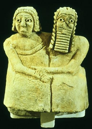 A Sumerian couple