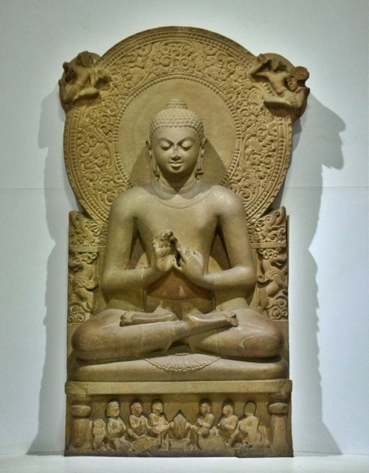 Meditating Buddha from the Gupta era