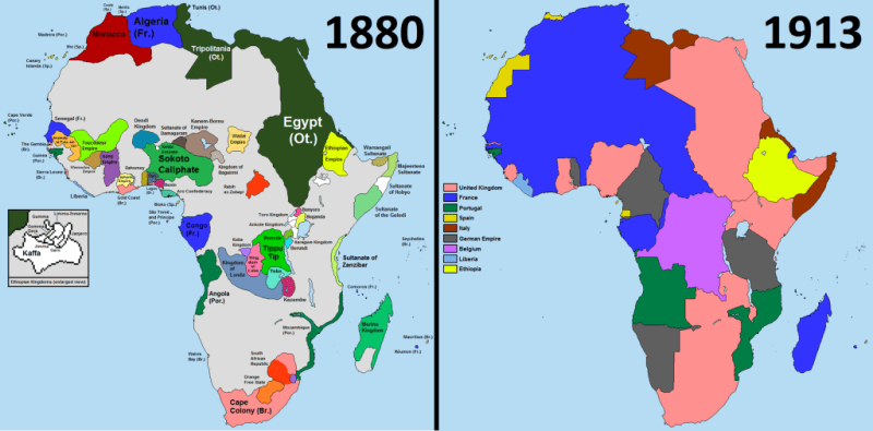"The ""Scramble for Africa"""