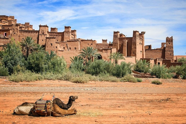 The Amazigh (Berber) city of Aït Benhaddou, in Morocco