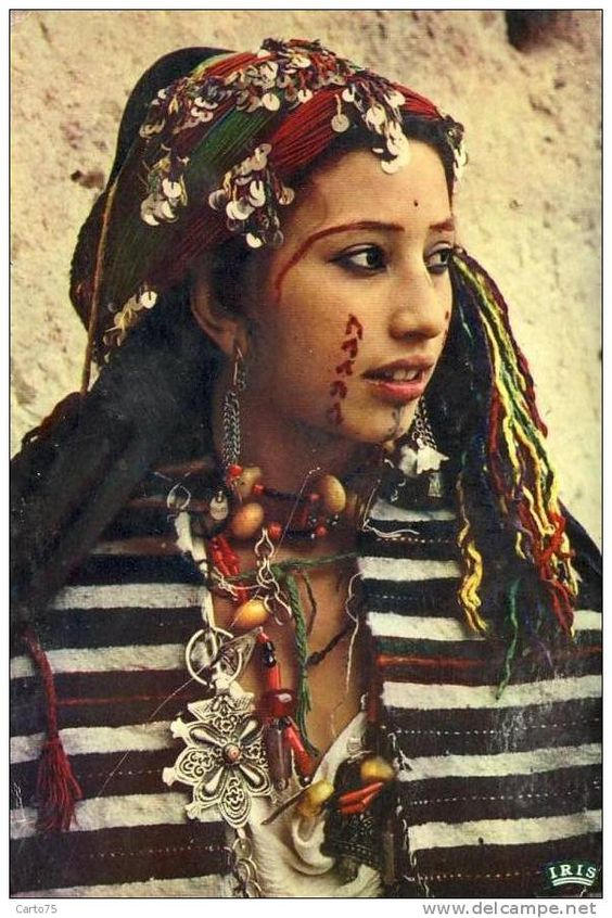 A Berber woman in the early twentieth century