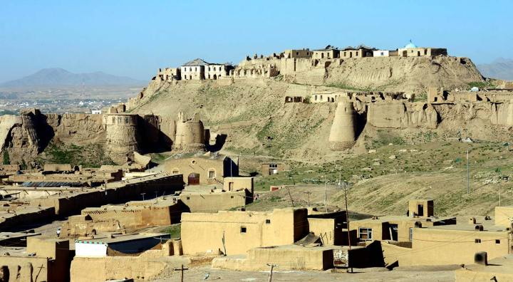 The city of Ghazni, Uzbekistan today.
