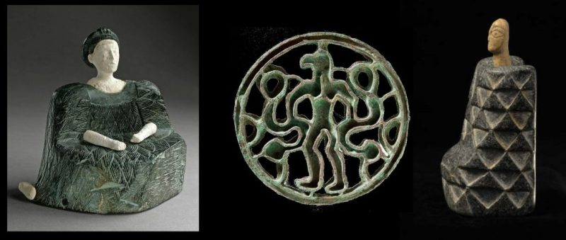 A sampling of artifacts discovered at Gonur