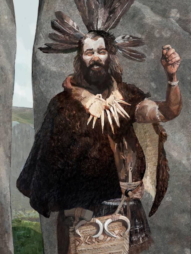 An Andronovo shaman