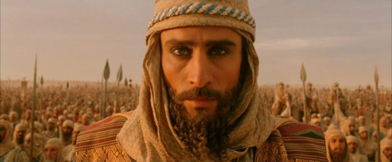 "The defeated Persian emperor Darius (from the movie ""Alexander,"" 2004)"