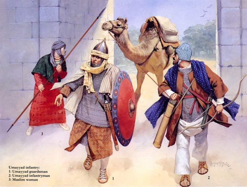 Warriors of the Umayyad Caliphate.