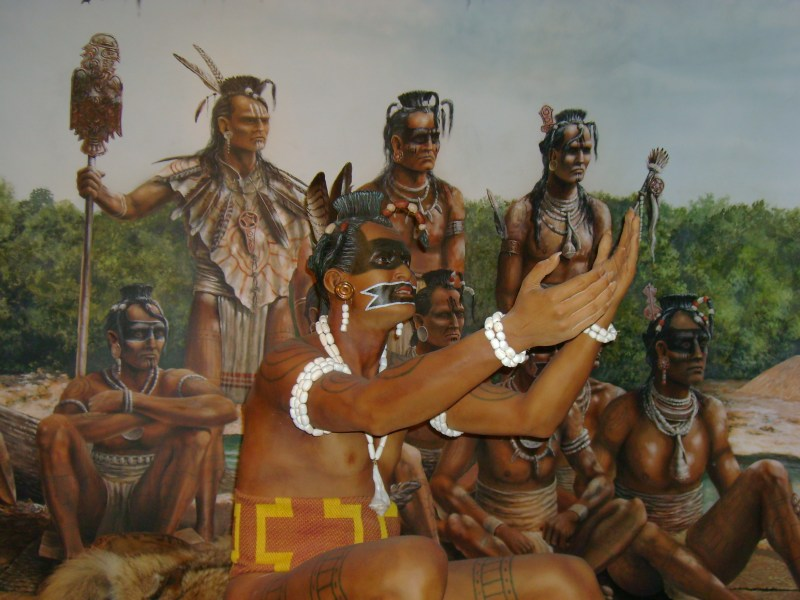 Native American history: People of ancient Florida, whose name for themselves we do not know.