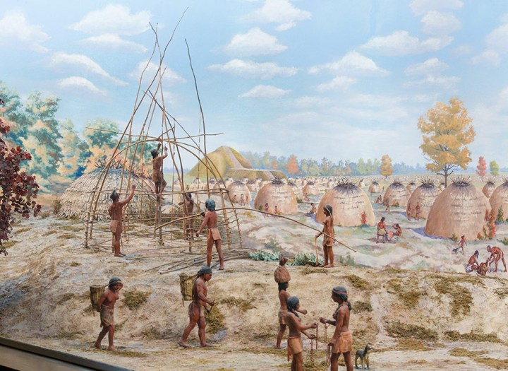 Native American history: People at Poverty Point, circa 1700 BCE.
