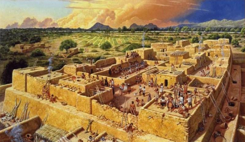 The great city of Snaketown, Arizona