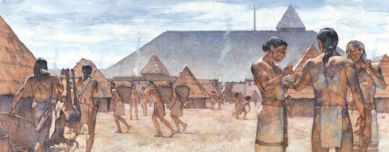 Mississippian people of the city of Cahokia, in Missouri