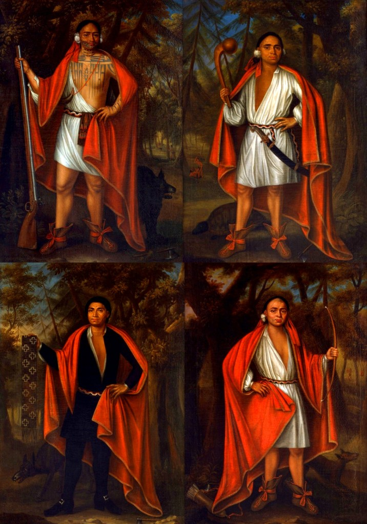 "The ""Four Mohawk Kings"" who visited London in 1710"