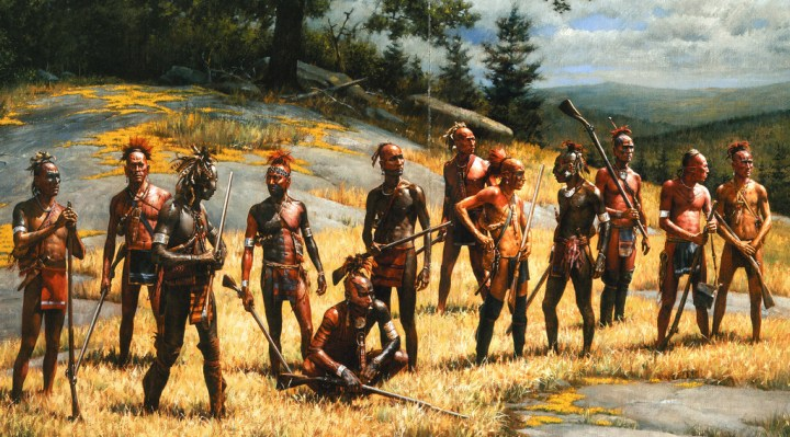 """""""War Party From Ticonderoga"""" by Robert Griffing"""