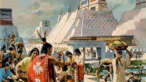 The Aztec branch of the Uto-Aztecan peoples