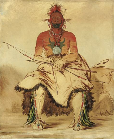 A Comanche warrior