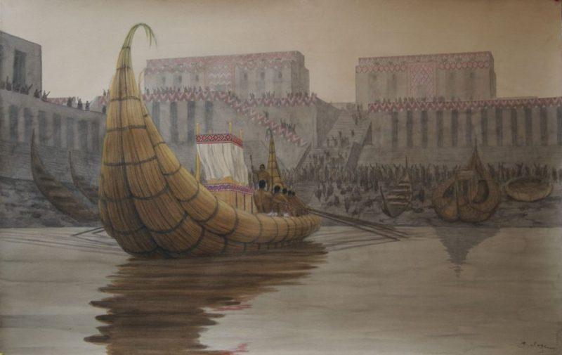 The Sumerian city of Eridu