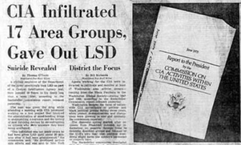 The CIA was fond of dosing out LSD.