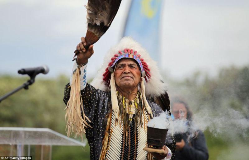 A modern Comanche chief