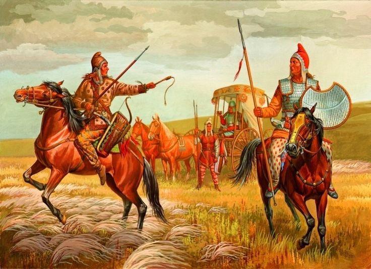 Scythian riders