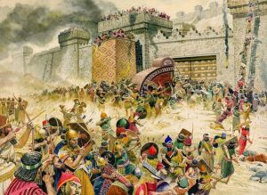 The Assyrian army at war