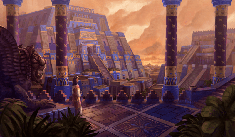 """Mesopotamian City"" by LongJH on DeviantArt"