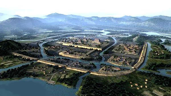 A city of the Liangzhu culture, circa 2600 BCE