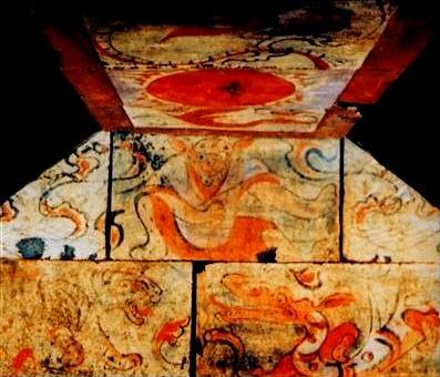Temple paintings at Niuheliang, circa 3000 BCE